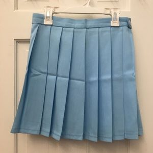 Dresses & Skirts - BLUE PLEATED SKIRT